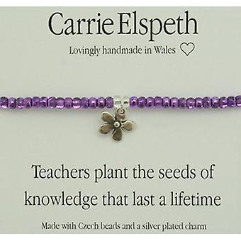 Carrie Elspeth Teachers Plant Seeds Knowledge Bracelet