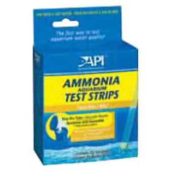 API Test Tiras Amoniaco (25 Uds) (Fish , Maintenance , pH & Other Substance Test Strips)