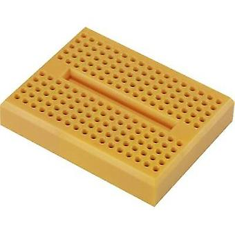 Breadboard Orange Total number of pins 170 (L x W x H) 46 x 36 x 8 mm Conrad Components 0165-4219-13-15010 1 pc(s)