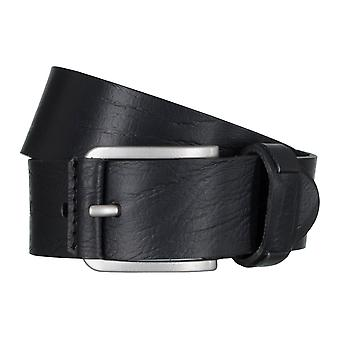 SAKLANI & FRIESE belts men's belts leather belt black 5022