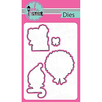 Pink And Main Dies-hOWLidays, 4/Pkg PNM056