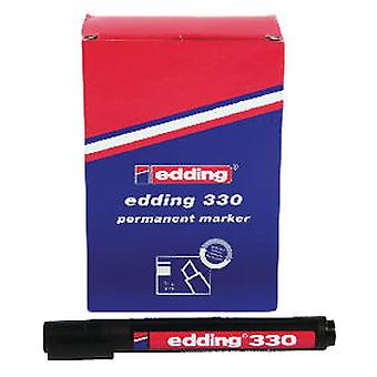 Edding 330 10 Black Highlighters (Home , Office , Accessories)