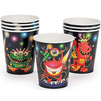 8 Monster Bash Paper Party Cups | Kids Party Cups