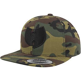 Wu-wear Snapback Cap - LOGO træ camo