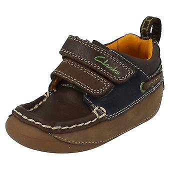 Boys Clarks First Infant Casual Shoes Crusher