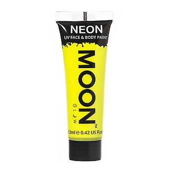 Moon Glow - 12ml Neon UV Face & Body Paint - Intense Yellow
