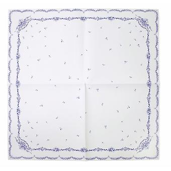 Party Porcelain Blue & White Paper Table Cover - Wedding Party Anniversary