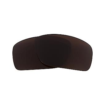 Best SEEK Replacement Lenses for Oakley Sunglasses CANTEEN Brown Silver Mirror