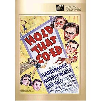 Hold That Co-Ed [DVD] USA import