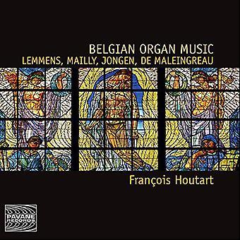 Lemmens/Francois Houtart - belgiske orgelmusik [CD] USA import