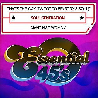 それは方法それの (体・魂) を得た魂世代/Mandin [CD] 米国のインポート