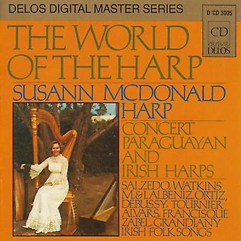 Susan McDonald - The World of the Harp [CD] USA import