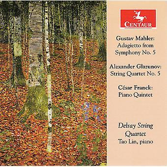 Mahler / Glazunov / Franck / Lin / Delray Str Qrt - Works for Str Qnt [CD] USA import