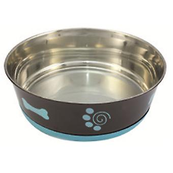 Arquivet Feeder Chocolate Slip (Dogs , Bowls, Feeders & Water Dispensers)