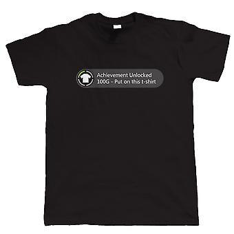 Achievement Unlocked - Put On This TShirt, Mens Funny T Shirt
