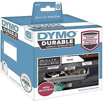 DYMO Labels (roll) 54 x 25 mm PE film White 160 pc
