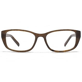 Carvela Rectangle Glasses In Brown
