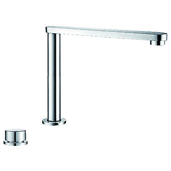 Blanco The retractable mixer tap in the clear design