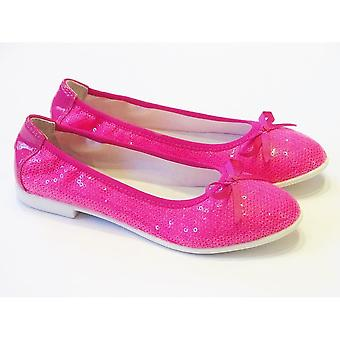 Lelli Kelly Lelli Kelly Paillettes Pink Sequin Ballet Pumps