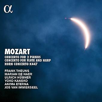 Mozart / Van Immerseel, Jos / Anima Eterna - Mozart: koncerter [CD] USA import
