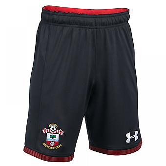 2017-2018 Southampton Football Inicio Shorts (negro)