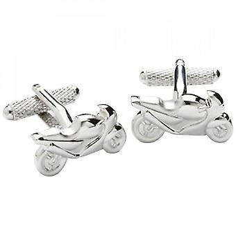 Onyx-Art Motor Bike Cufflinks CK176
