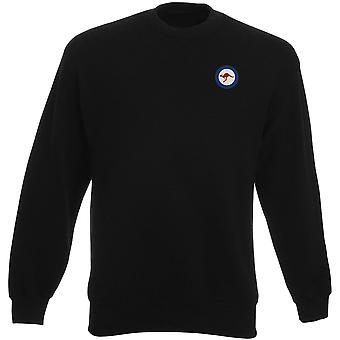 Royal Australian Air Force RAAF Roundel geborduurd Logo - Heavyweight Sweatshirt