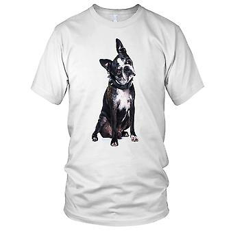 Boston Terriër huisdier hond dames T Shirt