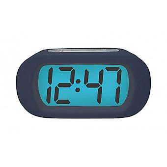 Balance Quartz Alarm Clock Digital Blue