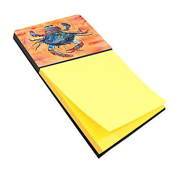 Crab Refiillable Sticky Note Holder or Postit Note Dispenser