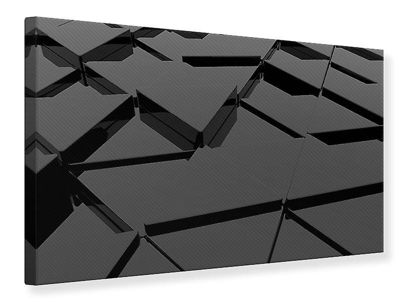 Toile impression 3D faces triangulaires