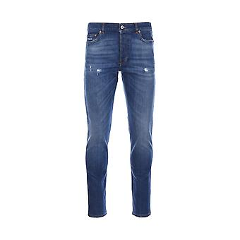 Givenchy men's 17S 1005473400 blue cotton of jeans