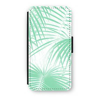 Samsung Galaxy S8 Plus Flip Case - Palm leaves