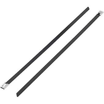 Cable tie 127 mm Black Coated KSS 1091190
