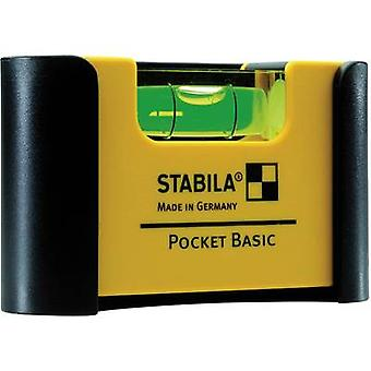Mini spirit level 7 cm Stabila Pocket Basic