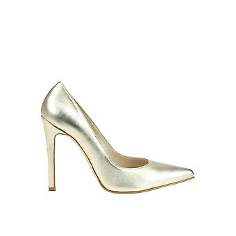 Andrea Pinto women's MCGLCAT03073E gold leather pumps