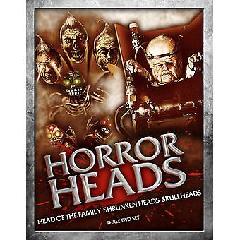 ¡Cabezas de horror! Importación [DVD] los E.e.u.u.
