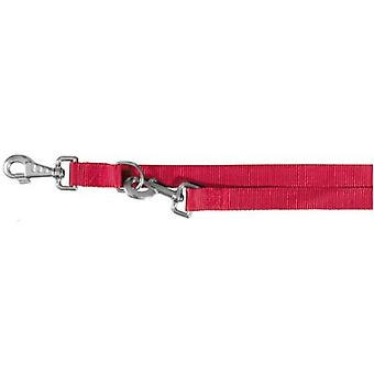Trixie Ramal Classic, M-L, 2.00m,20mm, Rojo (Dogs , Collars, Leads and Harnesses , Leads)
