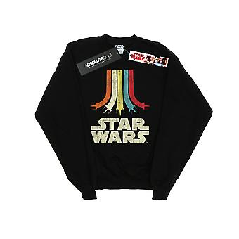 Star Wars Boys Retro Rainbow Sweatshirt