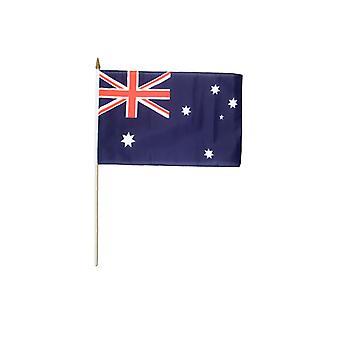 Australien-Hand winkend-Flagge
