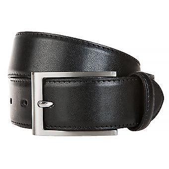 LLOYD Men's Belts Gürtel Herrengürtel Ledergürtel Schwarz 6582