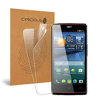 Celicious Vivid Invisible Screen Protector for Acer Liquid E3 Duo Plus [Pack of 2]