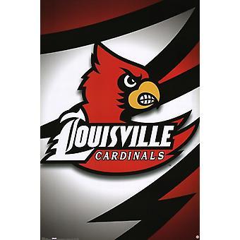 Louisville - Logo Poster Print