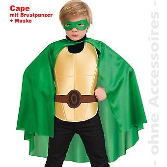 Enfants de costume super héros vert Hero Ninja turtle costume enfant