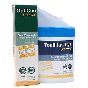 Stanvet Optican + Wipes Lys 40 Units
