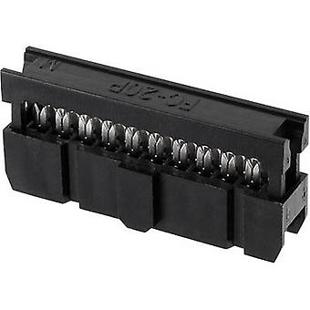 econ connect Pin connector Contact spacing: 2.54 mm Total number of pins: 24 No. of rows: 2 1 pc(s) Tray