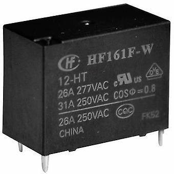 Hongfa HF161F-W/012-HT PCB relays 12 Vdc 31 A 1 maker 1 pc(s)
