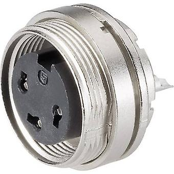 Binder 09-0308-80-03 Series 682 Miniature Circular Connector Nominal current (details): 7 A Number of pins: 3 DIN