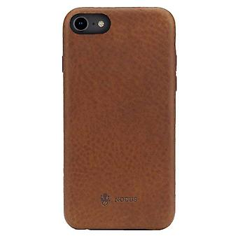 Nodus Shell II iPhone 7/8 Case and Micro Dock III - Chestnut Brown