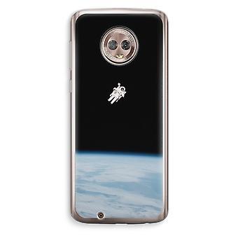Motorola Moto G6 Transparent Case (Soft) - Alone in Space